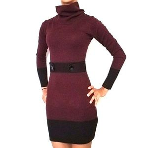 Turtle Neck Sweater Dress from iZ BYER, size S